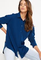 Cotton On - Monique shirt - navy