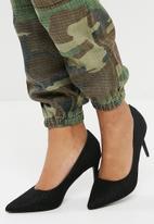 dailyfriday - Lace stiletto high heel - black
