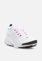 fecba1bdbe75 Men s Nike Presto Fly Shoe - White White-Black-University Red Nike ...