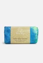 Terra Yoga - Tie dye non-slip yoga towel