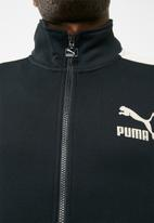 PUMA - T7 jacket inserts suede full zip