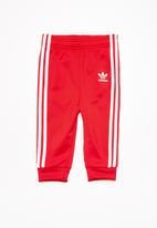 8e7294221bcd Infants SST tracksuit - Scarlet adidas Originals Sets