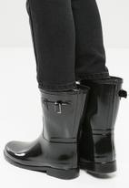 Hunter - Original refined short gloss - black