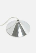 Eleven Past - Stainess steel shard pendant
