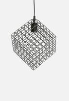 Eleven Past - Square pendant