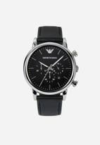Armani - Chronograph - black