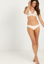 Cotton On - Seamless essential bikini brief - white