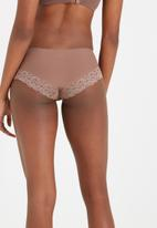 Cotton On - Party pants boyleg brief - brown
