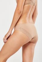 Cotton On - Party pants seamless bikini brief - nude