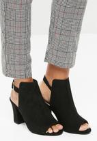New Look - Sleek block cut out- Black