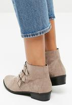 New Look - Dusty studded boot - light brown