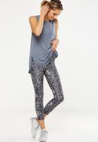 Cotton On - Scooped flow tank top - grey