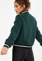 Cotton On - Sherpa bomber - green