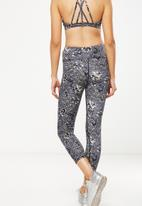 Cotton On - Recycled highwaisted yoga 7/8 tight - multi