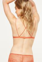 Cotton On - The body x bralette - tan