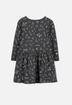 Cotton On - Kids Lani long sleeve dress