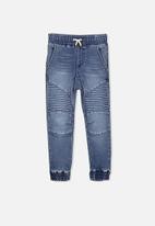 Cotton On - Kids Bobby track denim pants