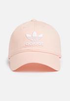 99b92ed153a Trefoil Cap - blush pink white adidas Originals Headwear ...