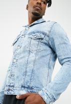 Only & Sons - Rocker denim trucker jacket
