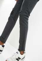 Only & Sons - Warp skinny rip jeans