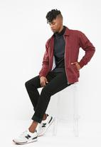 basicthread - Harrington jacket - burgundy