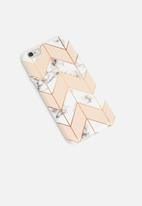 Hey Casey - Blush rush phone cover