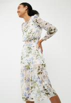 New Look - Sophie garden shirred midi dress