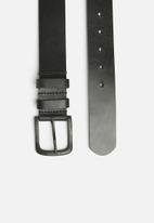 Superbalist - Leather belt - black