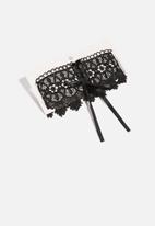 dailyfriday - Lace choker - black