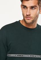 Cotton On - Drop shoulder crew fleece sweat