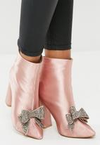 dailyfriday - Bow detail boot - pink
