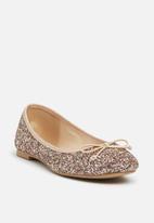 ONLY - Glitter ballerina  - gunmetal