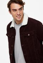 Cotton On - Sherpa collar rodeo jacket