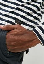 PRODUKT - Fast stripe long sleeve tee