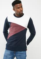 PRODUKT - Cut crew sweat