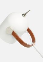 Sixth Floor - Jett desk lamp - white