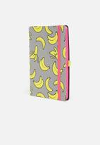 Mustard  - Banana notebook
