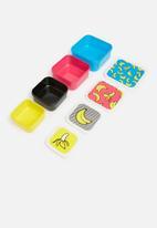 Mustard  - Banana snack boxes