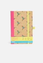 Mustard  - Origami notebook