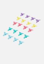 Mustard  - Origami eraser toppers