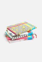 Mustard  - Marble notebook