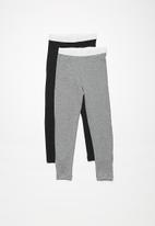 dailyfriday - Kids winter leggings - 2 pack