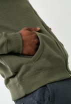 New Look - Basic zip through hoodie
