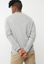 basicthread - Pullover crew neck sweat