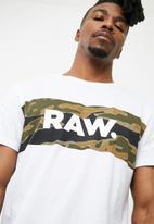 G-Star RAW - Tairi compact jersey tee
