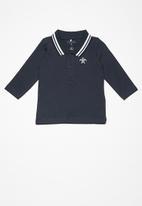 name it - Kids boys long sleeve polo top
