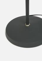 Present Time - Copious floor lamp - black