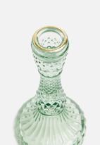 Present Time - Gem candle holder - pine green