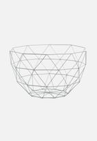 Present Time - Linea fruit bowl set of 2 - grey