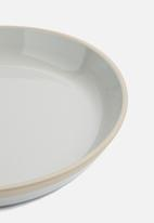 Present Time - Large brisk platter - grey